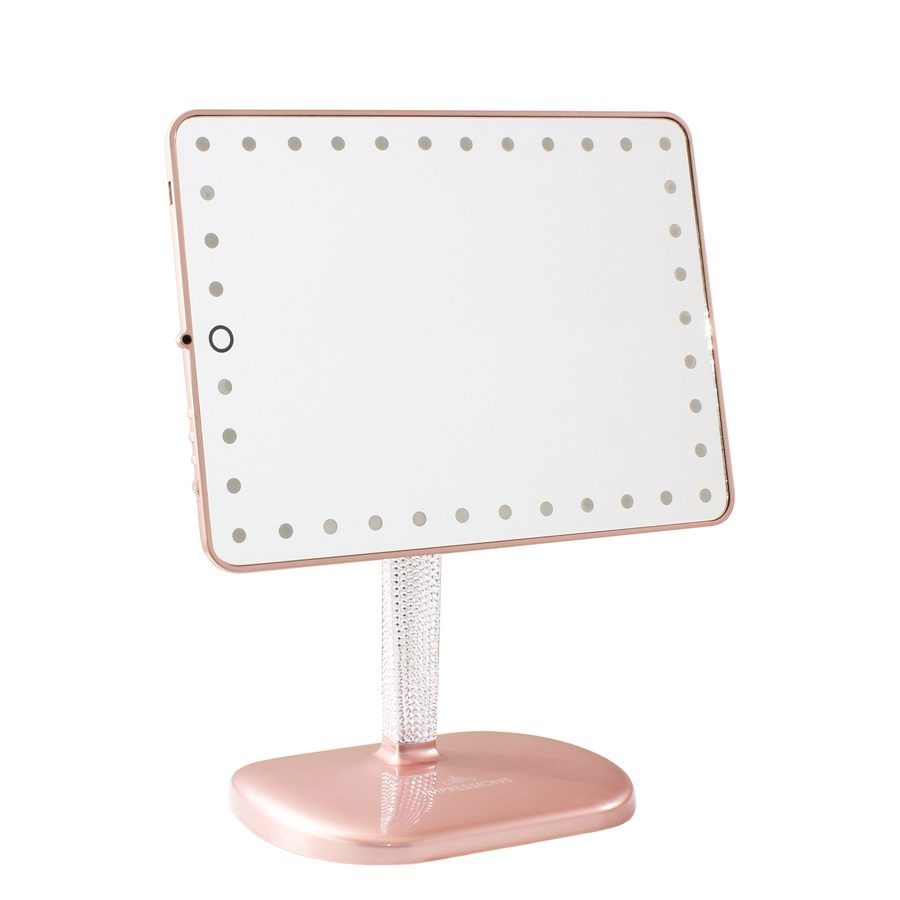 Touch Pro LED Makeup Mirror with Bluetooth Audio+