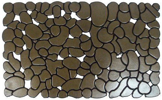 Iron Gate Pebbles Doormat In A Beautiful Bronze Finish 18x30 Single Pack 1 4 Inches Thick 100 Heavy Duty Durable Vulcan Outdoor Mat Iron Gate Door Mat