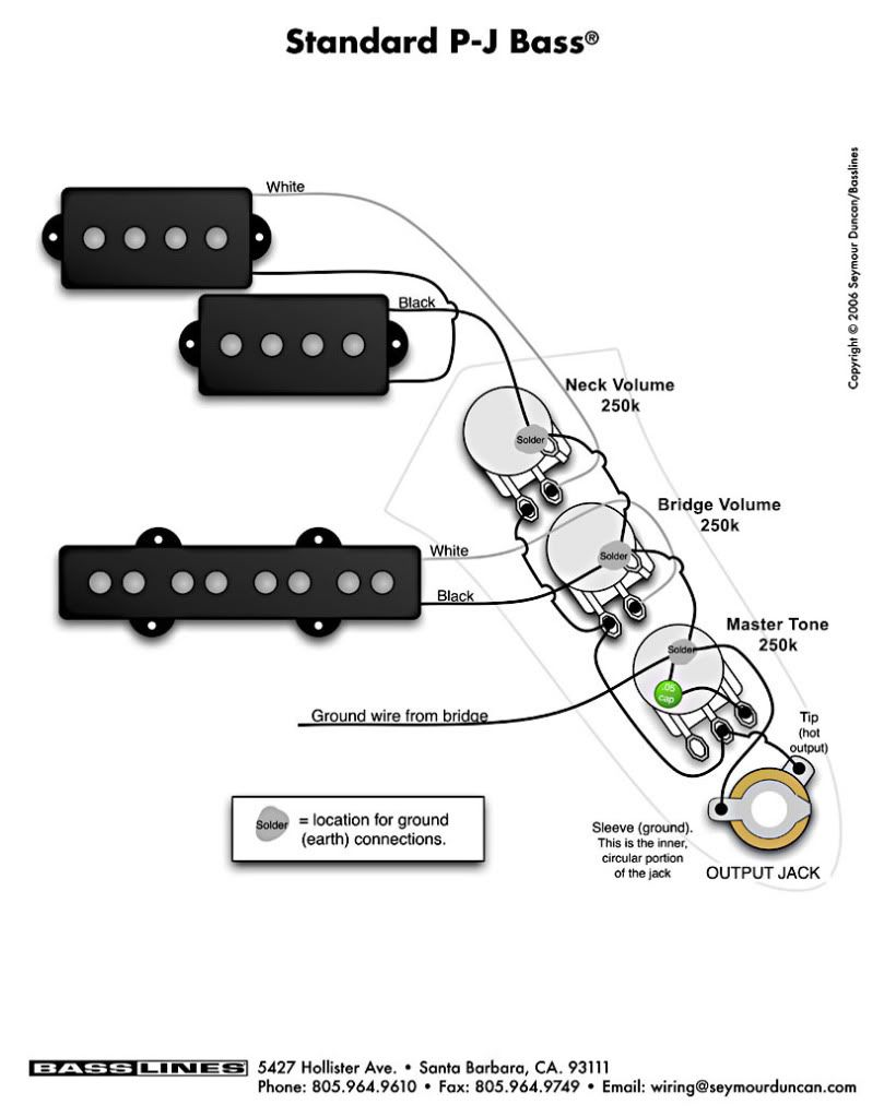 guitar wiring diagrams 2 pickups to in ibanez bass diagram [ 809 x 1023 Pixel ]