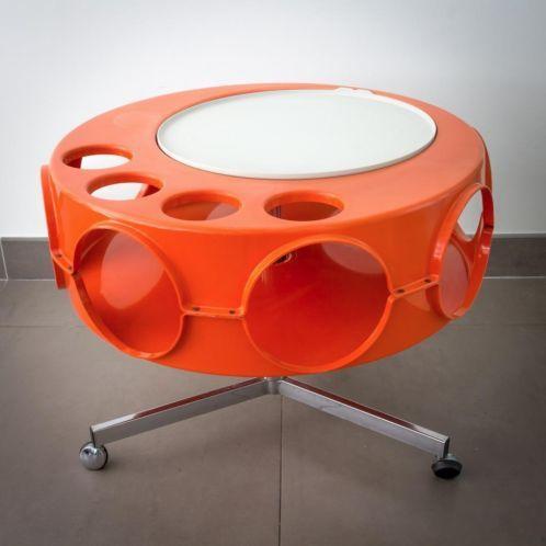 Retro Salon Tafel.Vintage Retro 60s 70s Ufo Design Space Age Salon Tafel