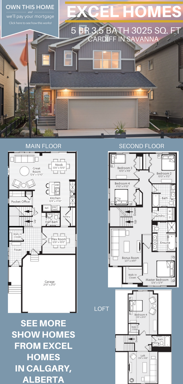 Three Story Floorplan 5 Bedroom 3 5 Bathoom Home House Ideas House Inspiration Cardiff By Excel Homes Narrow House Plans House Blueprints House Layouts