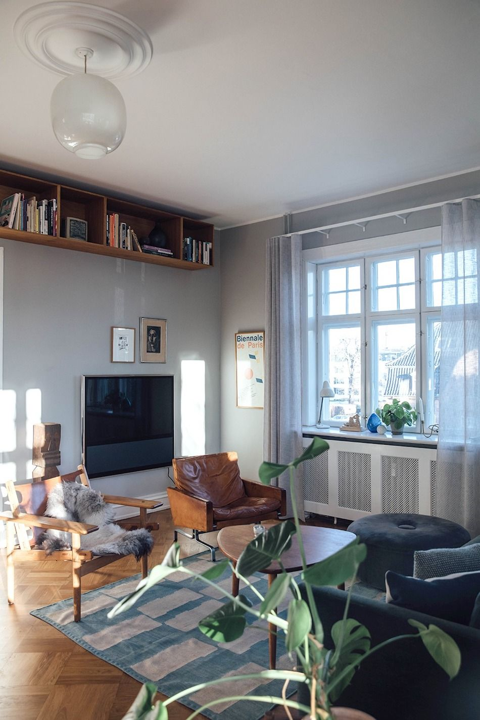 Inside a Creative and Personal Copenhagen Home Filled with Vintage Design - Nordic Design