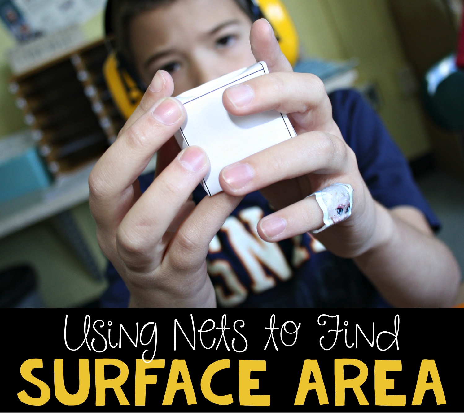 Using Nets To Find Surface Area A Free Math Activity