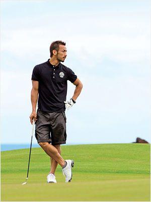 8f98f6cbad708b 中田英寿のおしゃれコーディネート ゴルフファッション, メンズファッション, ゴルフファッション, メンズレザー