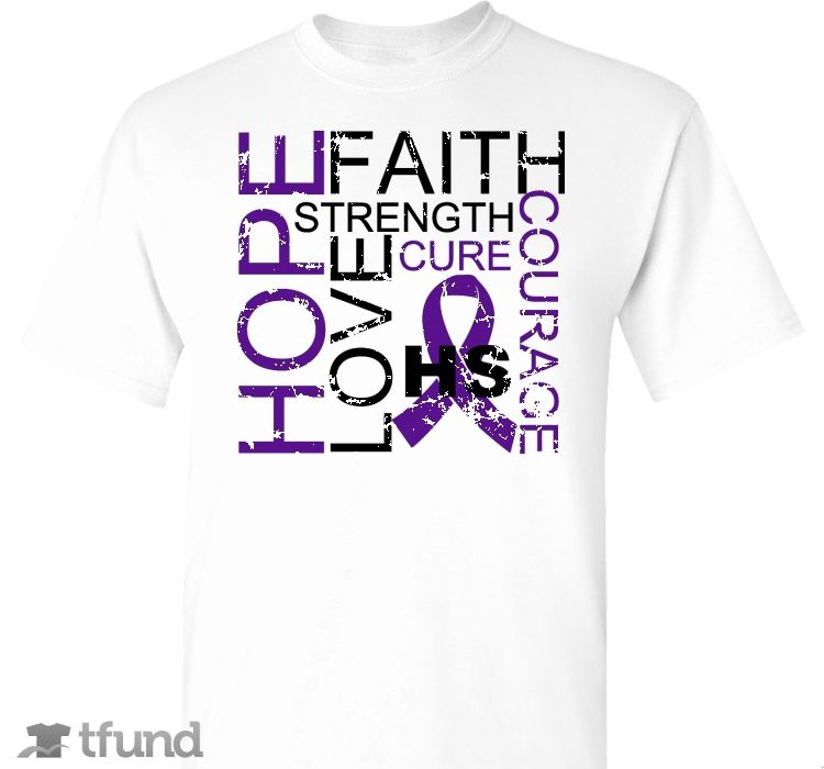 Check out Hidradenitis Suppurativa Awareness fundraiser t-shirt. Buy one & share it to help support the campaign!