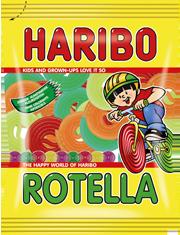 Haribo Rotella Fruit Haribo Gummy Candy Cute Snacks