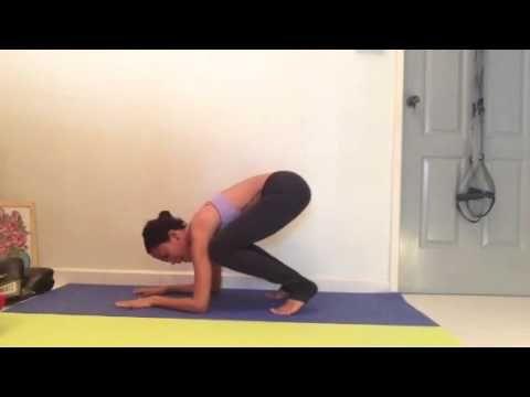 pinjo seagle on yoga/pilates  baby crows crow pose