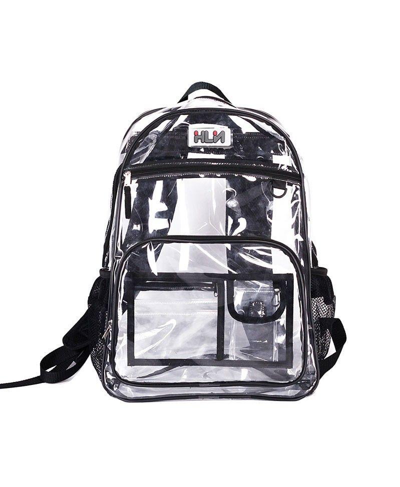 Transparent PVC Backpack. I like this 7c1081e2e52d8