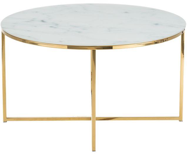 Tavolo Vetro Rotondo Ikea.Tavolino Da Salotto Antigua Con Piano In Vetro Nel 2020 Tavolini