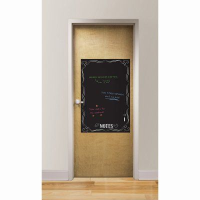 WallPops Bistro Notes Giant Dry Erase and Chalk Marker Set - WP2011