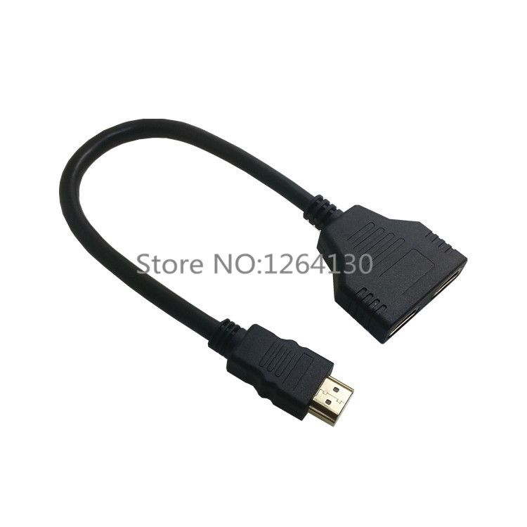 $4.69 (Buy here: https://alitems.com/g/1e8d114494ebda23ff8b16525dc3e8/?i=5&ulp=https%3A%2F%2Fwww.aliexpress.com%2Fitem%2FHDMI-Male-to-Dual-HDMI-Female-1-to-2-Way-Splitter-Cable-Adapter-for-HDTV%2F32275312748.html ) HDMI Male to Dual HDMI Female 1 to 2 Way Splitter Cable Adapter for HDTV for just $4.69