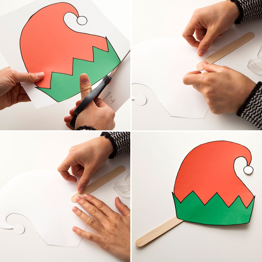 Weihnachtsfotos Gratis Make Holiday Photo Booth Props With These Free Printables