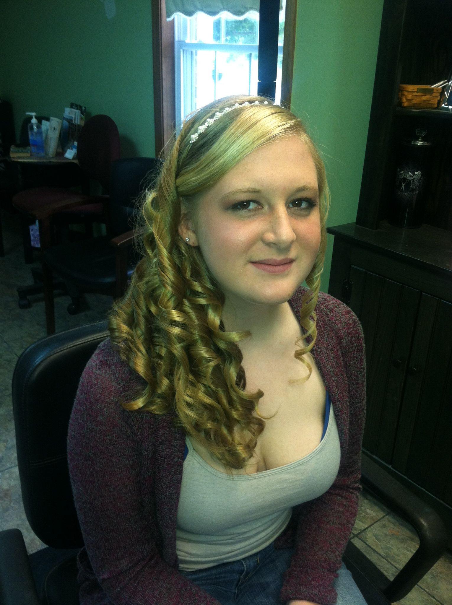 Homecoming hair :)