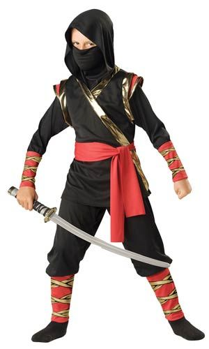 Kids Ninja Costume - Ninja Costumes More. Kid Halloween ...  sc 1 st  Pinterest : ninja toddler halloween costumes  - Germanpascual.Com