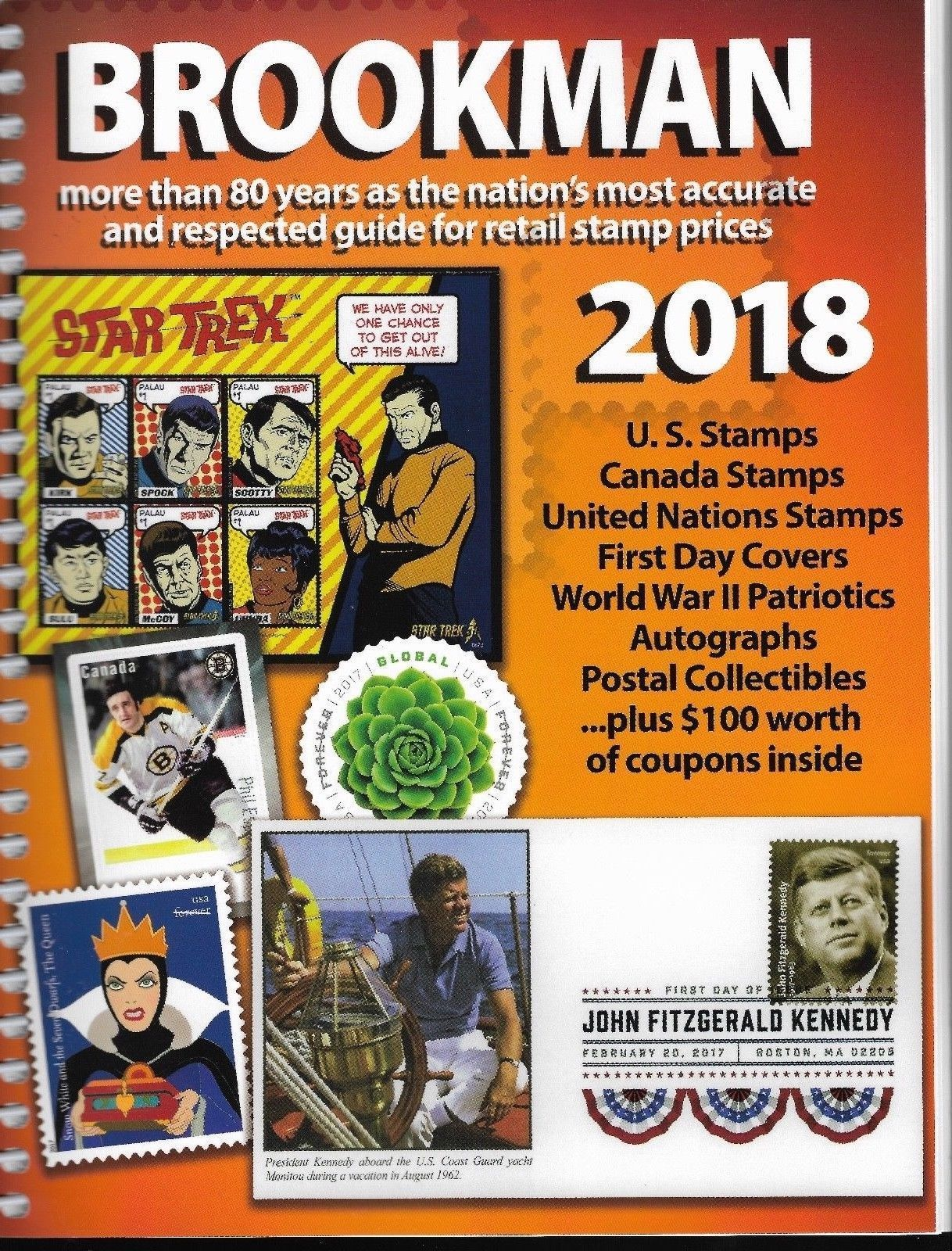 Albums 162057 2018 Spiral Bound Brookman Canada Us Stamps And Covers Price Guide Full Color Buy It Now Only 29 95 O Stamp Catalogue Price Of Stamps Stamp