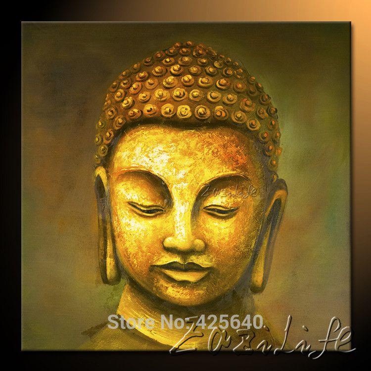 Buda Buddha painting Zen Buddha Canvas Wall Art Modern Contemporary ...