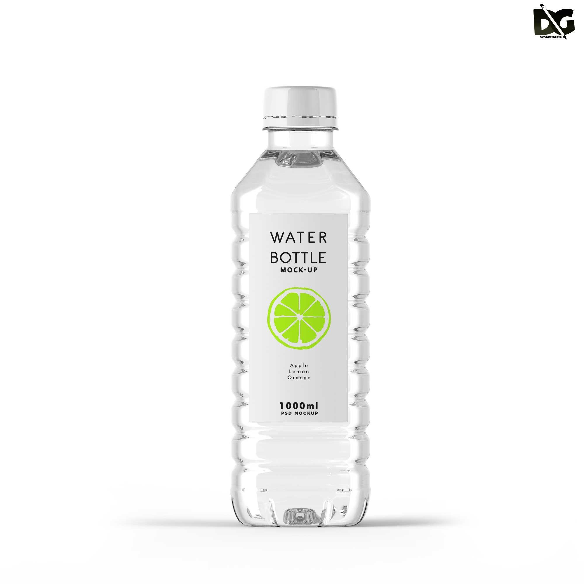Free Download Water Bottle Plastic Psd Mockup Free Freedownload Freemockups Mockup Psd Psdfree Psd Water Bottle Label Design Water Bottle Design Bottle