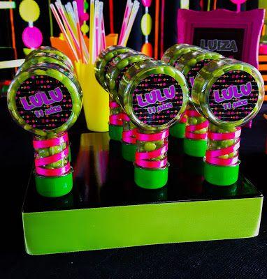Zoom · Kit Manicure Festa Neon Lembrancinha para meninas