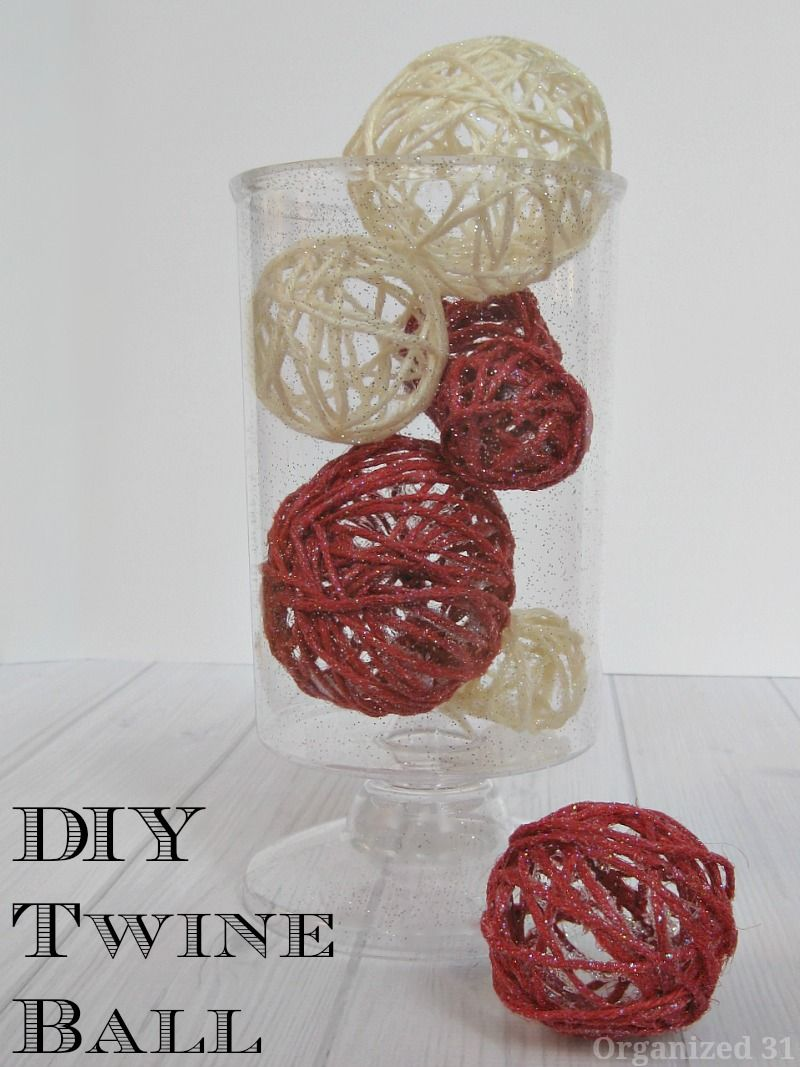Diy Twine Balls Organized 31 Pinterest Diy Twine And Crafts