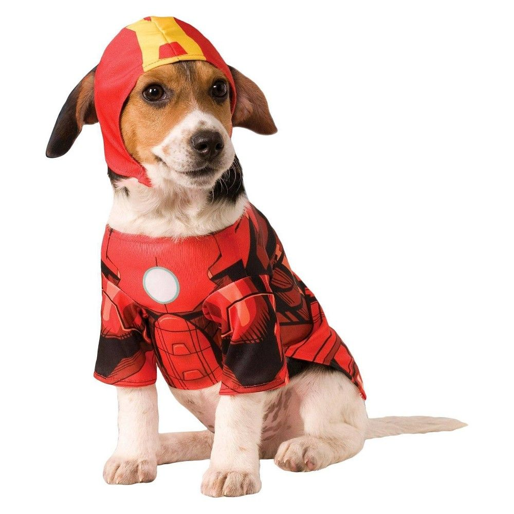Halloween Rubie S Iron Man Dog Costume Large Men S Clear In