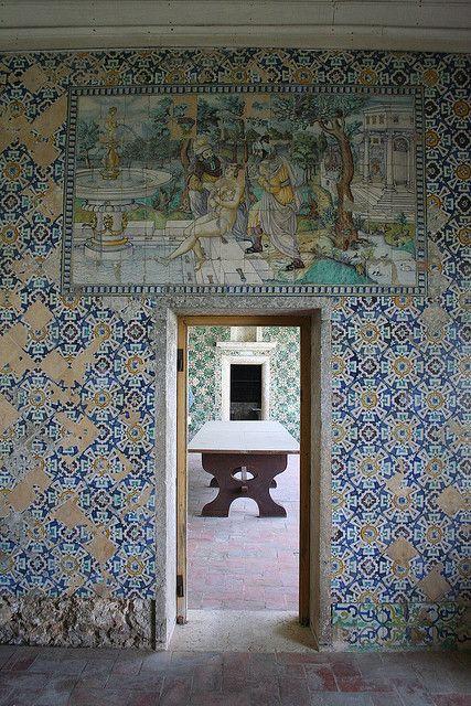 Quinta da Bacalhôa, Portugal, também conhecida como Palácio dos Albuquerques, em Azeitão.