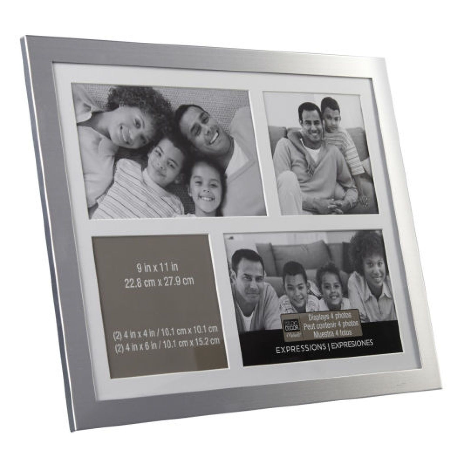 4 Opening Silver Collage Frame Expressions By Studio Decor Collage Frames Studio Decor Collage Picture Frames
