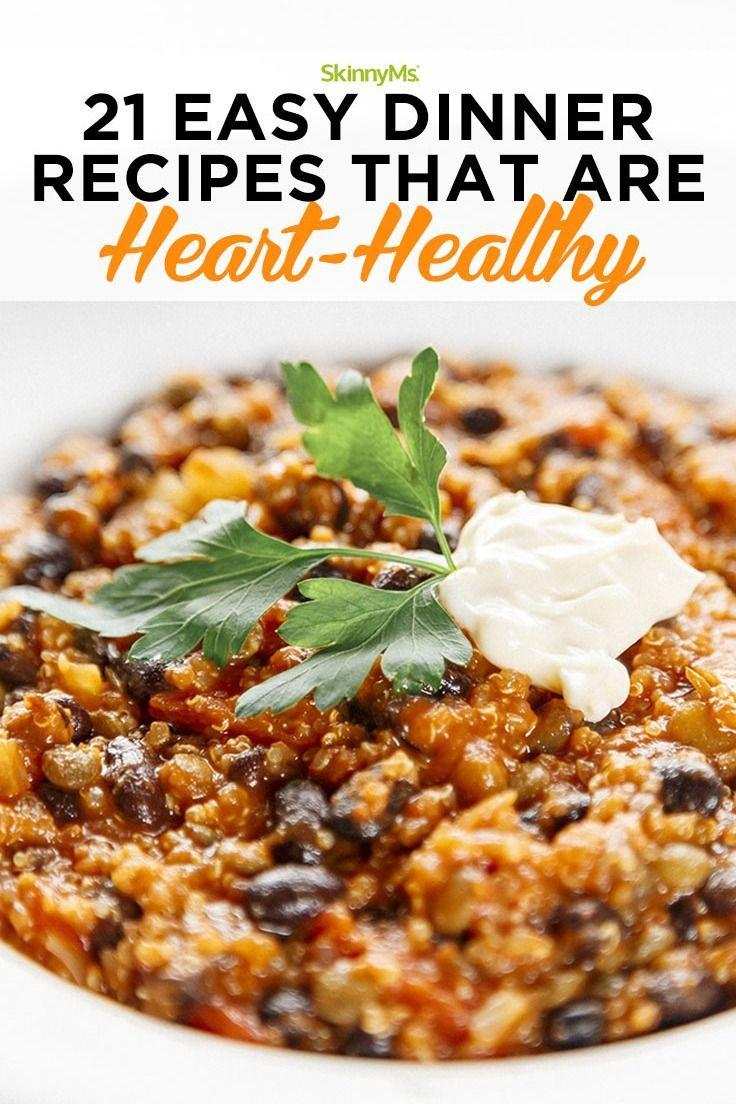 21 Easy, Heart-Healthy Dinner Recipes