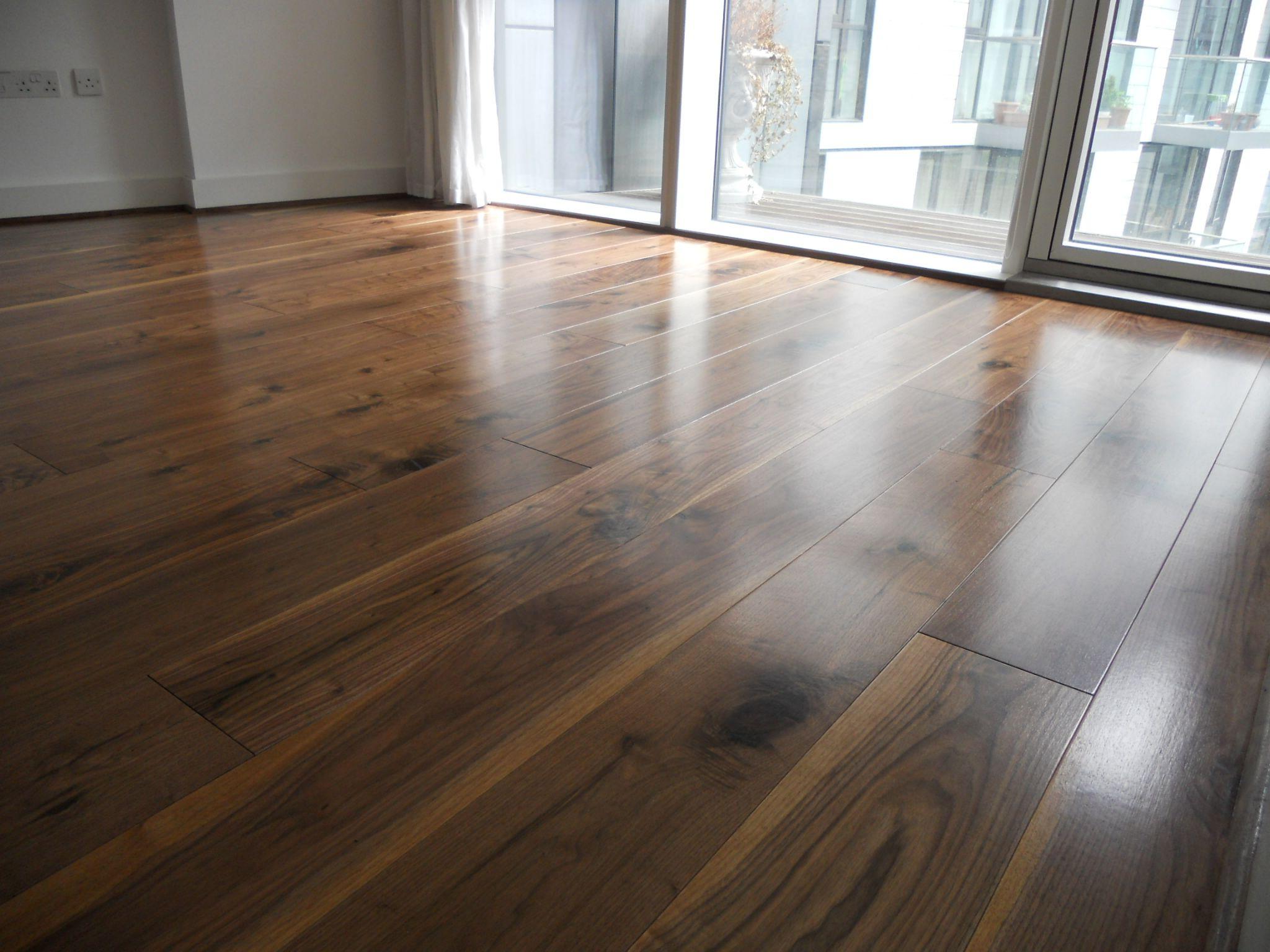 Clic Nature Grade American Black Walnut Aldgate London William Beard Flooring