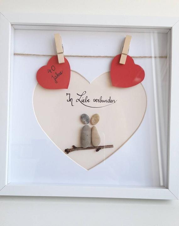 Hochzeitsgeschenk,Trauuung, Eheversprechen, Steinbild #steinbilderselbermachen