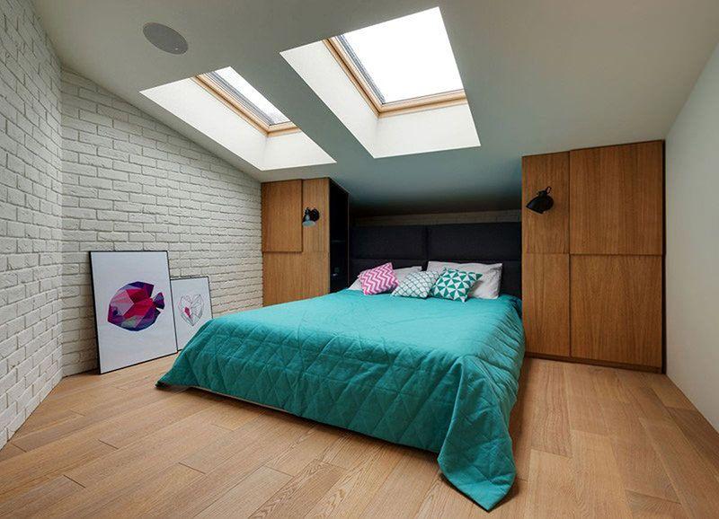 Apartamento Projetado Com Um Escorregador Projeto De