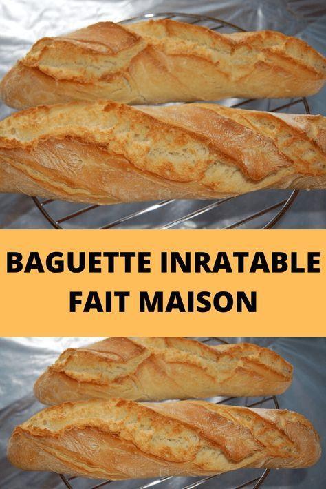 Baguette Fait Inratable Maison Monde Recettes Baguette Inratable Fait Maison Recettes Du Monde Recettes De Cuisine Recette Recette De Baguette