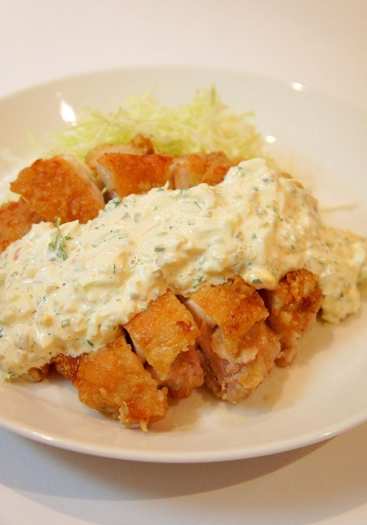 Crunchy And Bold Western Food Restaurant Style Chicken Nanban Fried