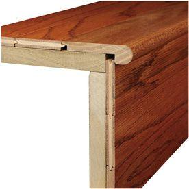 Best Bruce 3 12 In X 78 In Marsh Natural Wood Stair Nose Floor 640 x 480