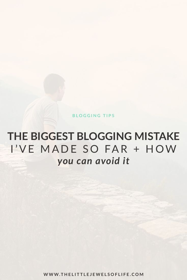 The BIGGEST Blogging Mistake I've Made So Far & How YOU Can Avoid It | The Little Jewels of Life - As bloggers, and just as humans, mistakes are inevitable. We buy things without thinking, we go on crazy adventures on a whim, and we just sometimes mess up. And that's ok! Today on the blog I am sharing with you the BIGGEST Blogging Mistake I've Made So Far and will tell YOU how you can avoid it. This mistake involves a $780 purchase and a stolen credit card … click through to read more!