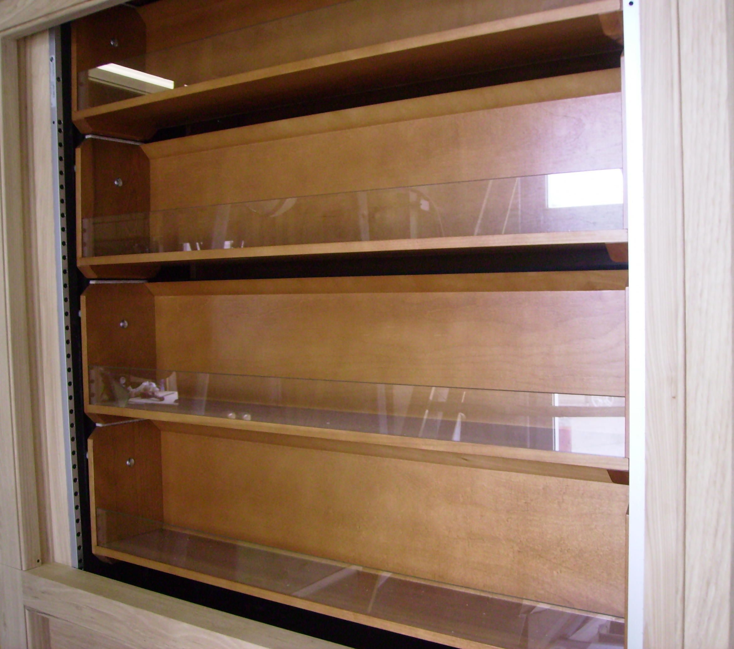 how to build vertical rotating pantry shelves automated pantry rh pinterest com