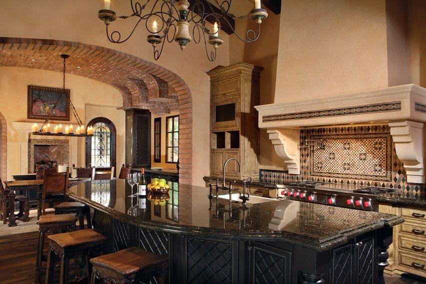 35 Luxury Mediterranean Kitchens Design Ideas Mediterranean