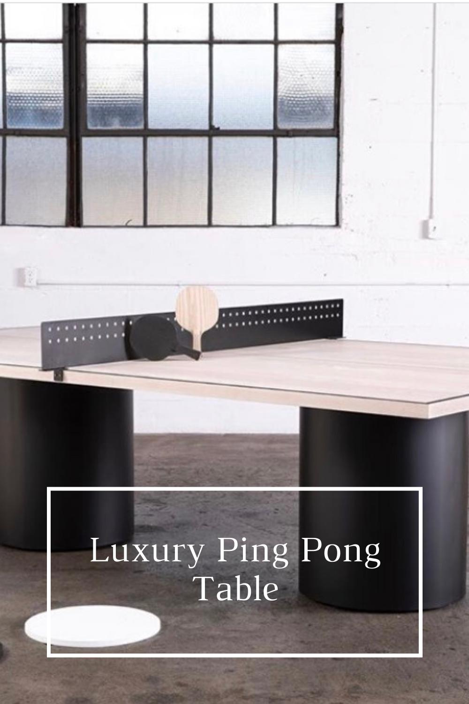 Table Tennis Room Design: Luxury Table Tennis In 2020