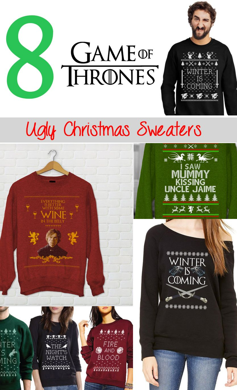 I Saw Mummy Kissing Uncle Jaime T-Shirt Game of Thrones Ugly Sweater Long Sleeve
