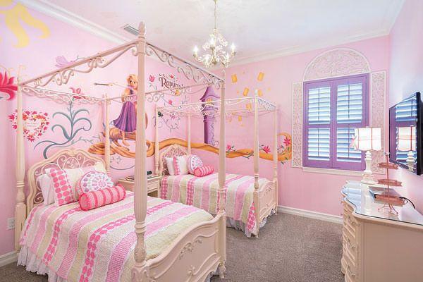 Cameretta Disney Principesse : Bellissime camerette a tema disney per bambini