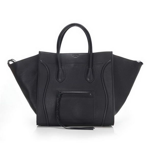 45bf3380e4b7 Celine Phantom Small Tote Bag Original Leather Black----CLASSIC black tote.  Iconic not trendy.