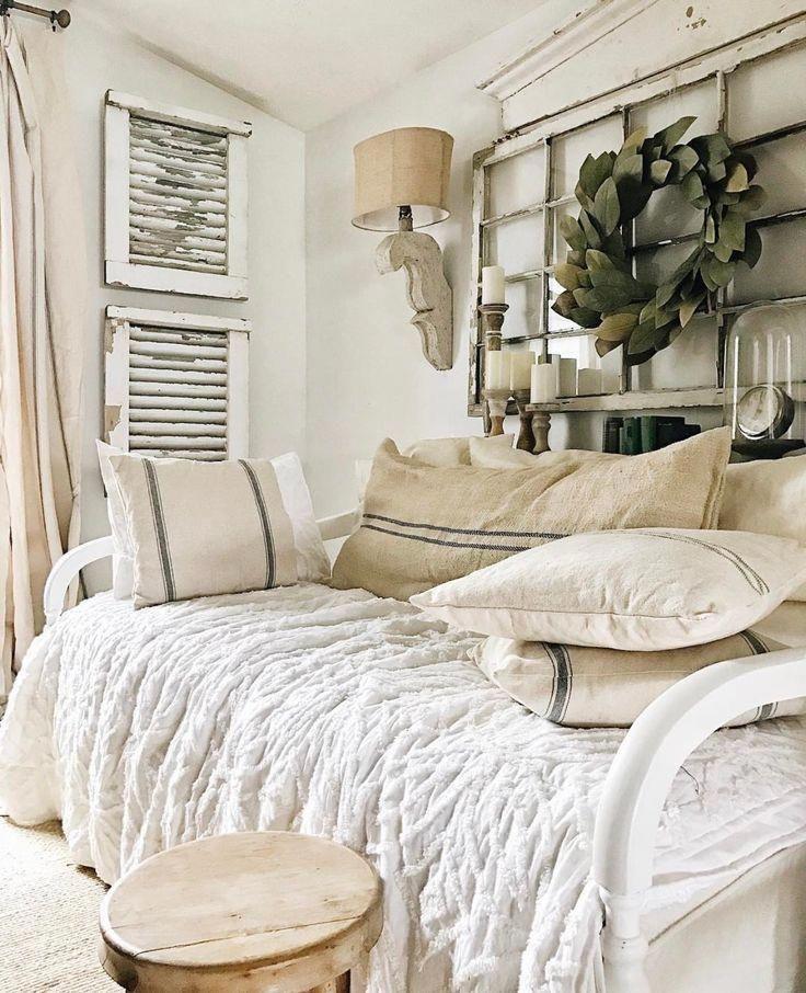 Corbel wall lamp pair in 2020 farmhouse bedroom decor