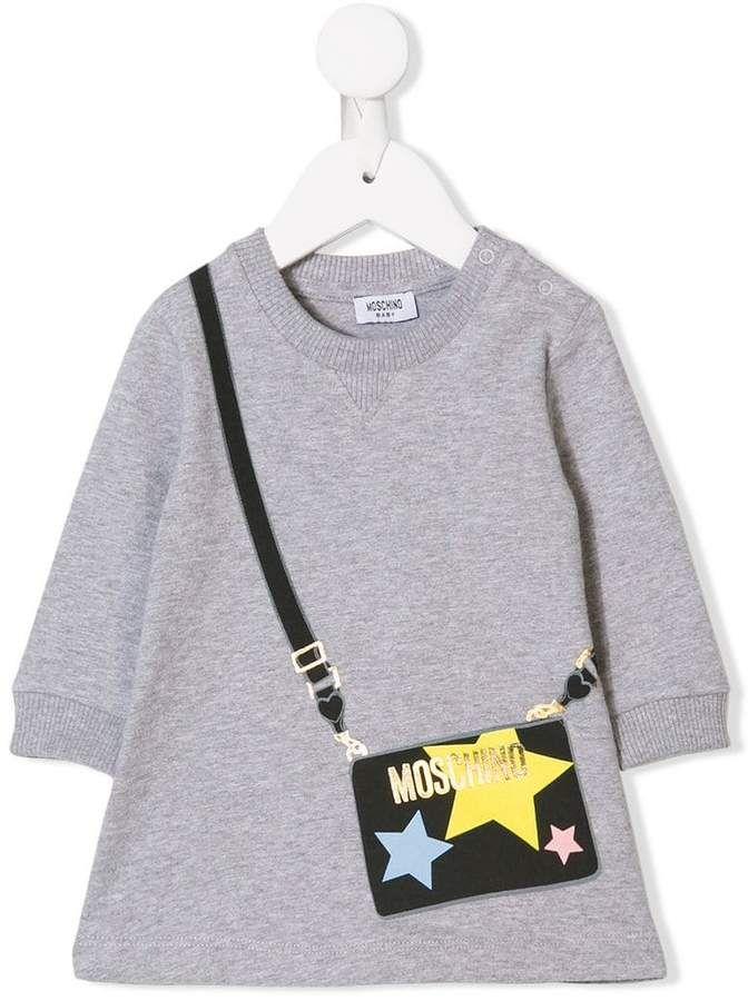 da8f7566f Moschino Kids handbag print dress   Sale Finds - Kids   Moschino ...