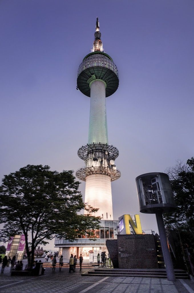 N Seoul Tower Viajar A Corea Del Sur Corea Del Sur Turismo Korea Del Sur