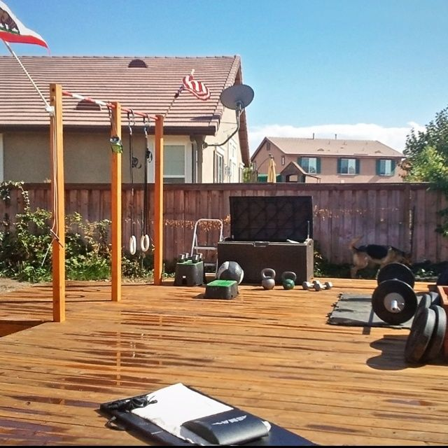 Bon Backyard Gym Backyard Gym. | Home Gym | Pinterest