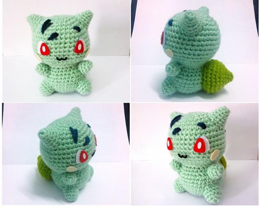 Ces petites peluches Pokemon tricotées vont faire fondre votre coeur ...