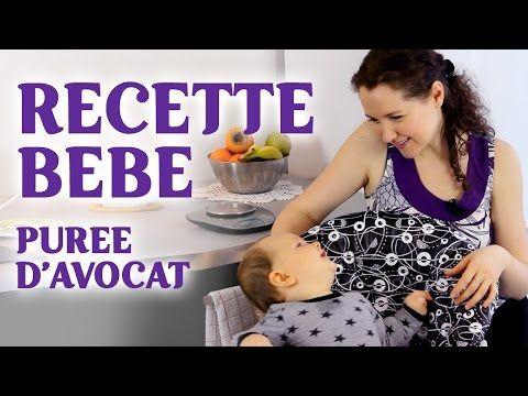 Recette bébé | Purée d'avocat fait maison - YouTube | Recette bébé, Purée d avocat, Recette ...