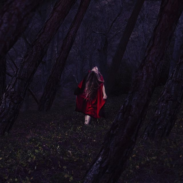 alive in the forest of old by brookeshaden, via Flickr