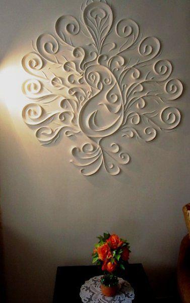 Decoracion pinterest yeso - Pegamento de escayola para alisar paredes ...