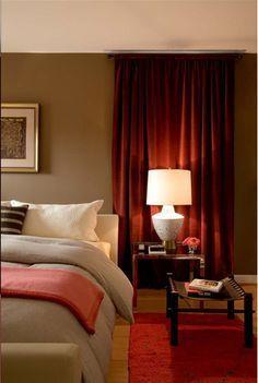 Dark Red Brown Bedroom Ideas Google Search