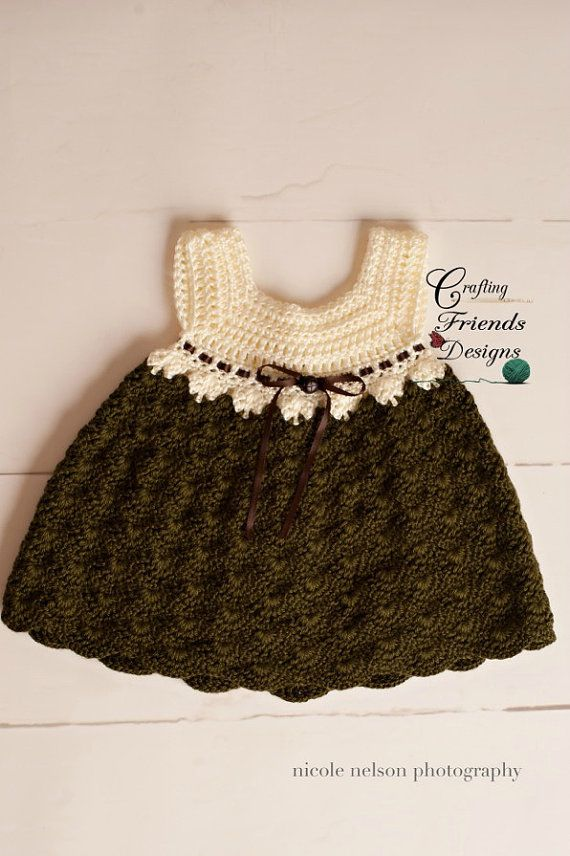 Crochet Pattern Baby Tay Infant Dress Crochet Baby Clothes